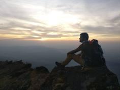 Praveen Deshmukh - Silhoutte on Summit