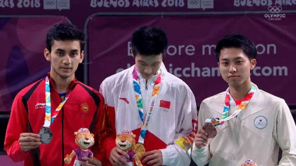 Lakshya Sen win gold in youth olympic
