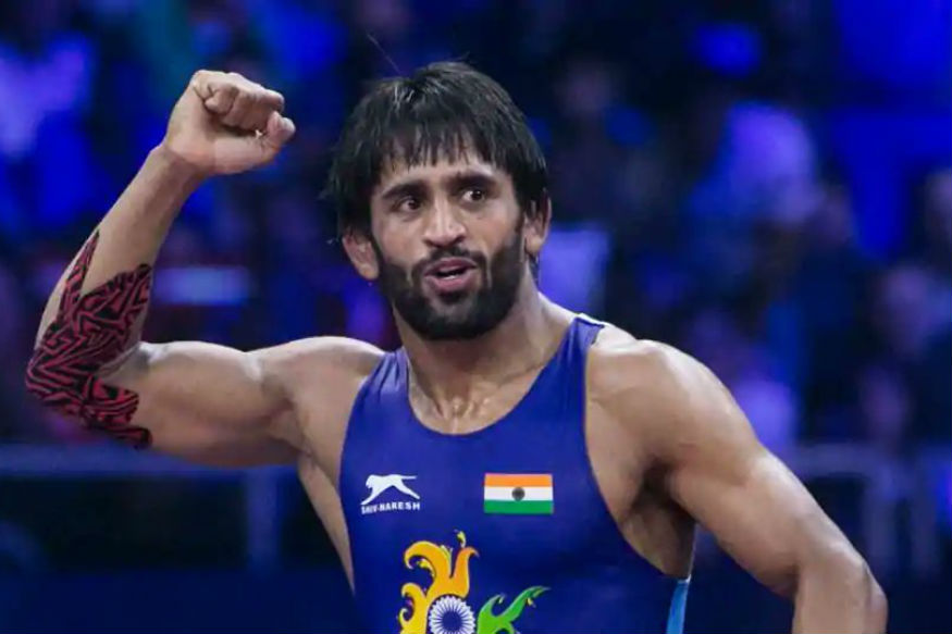 Bajrang Punia won a silver medal in men's qame