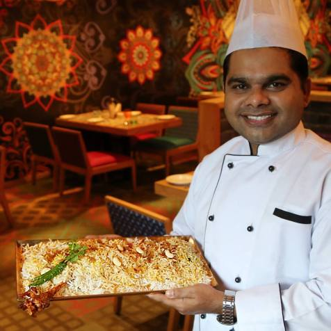 Chef Shaikh Istekhar presents the house speciality Raan Biry