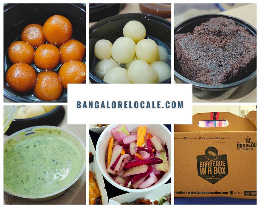 Barbeque Nation Desserts in a box