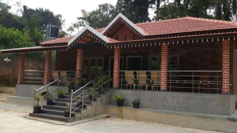 Mallandur-home stay-Chikmagalur-King-Size-Cottage-Front