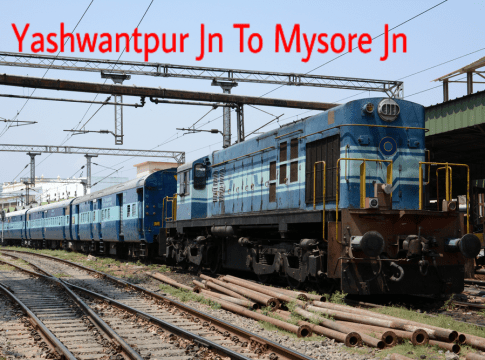 Yeshwantpur To Mysore Trains Timings,