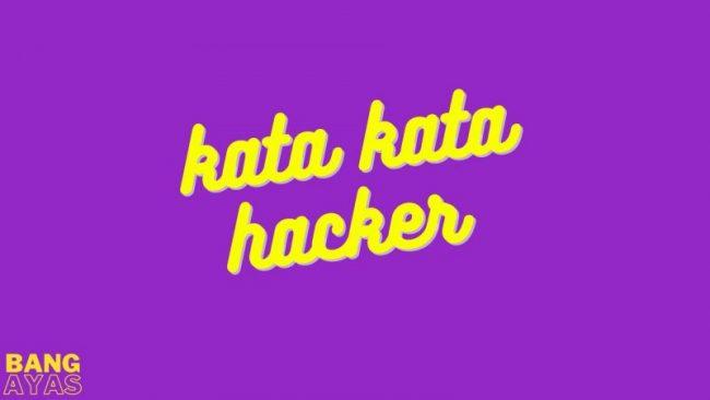 kata kata hacker