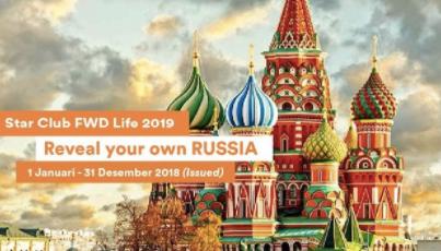 Wisata Asyik ke Rusia GRATIS bersama FWD