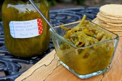 3. Green Bean & Caramelised Onion Chutney