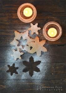 29. Chestnut Maple Snowflakes