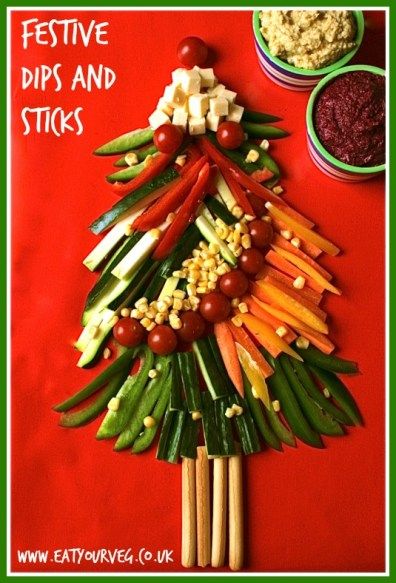 6. Festive Dips and Sticks