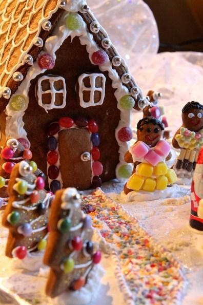 23. Gluten-free Gingerbread House