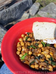 5. Middle Eastern Spiced Campfire Chickpeas
