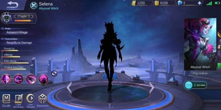 Perbaiki Blank Hitam Hero Mobile Legends