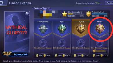 Photo of Syarat Rank Mythic Menjadi Mythical Glory Mobile Legends