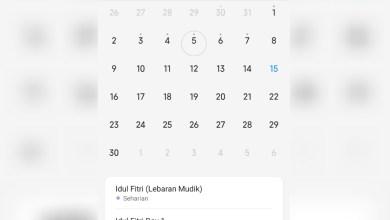 Photo of Cara Tampilkan Hari Libur Nasional pada Aplikasi Kalender Xiaomi