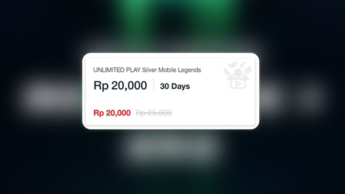 Paket Mobile Legends Telkomsel