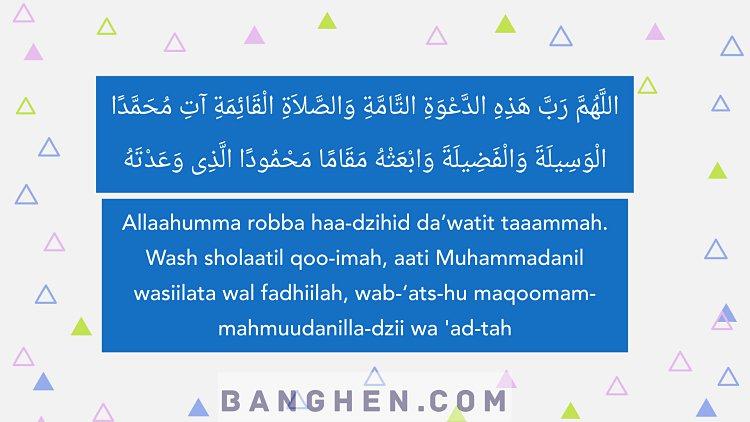 Doa Setelah Adzan Sesuai Sunnah Dan Artinya