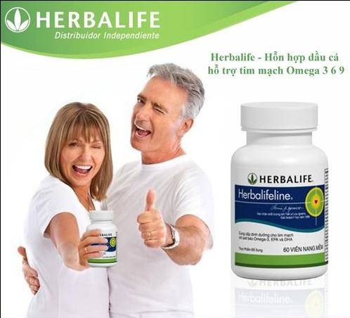 tác dụng của viên dầu cá Herbalifeline