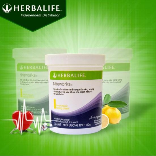 tác dụng của Niteworks Herbalife đối với tim mạch