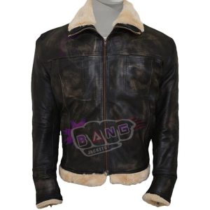 Buy Vin Diesel Movie Triple xXx 2002 Leather Shearling Jacket