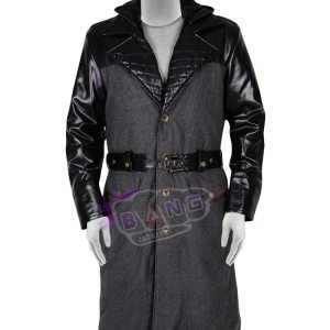 Collcet Assassins Creed Syndicate Jacob Frye Wool And Leather Winter Coat