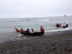 Bangka Journey at Hoh River Smallest Crew
