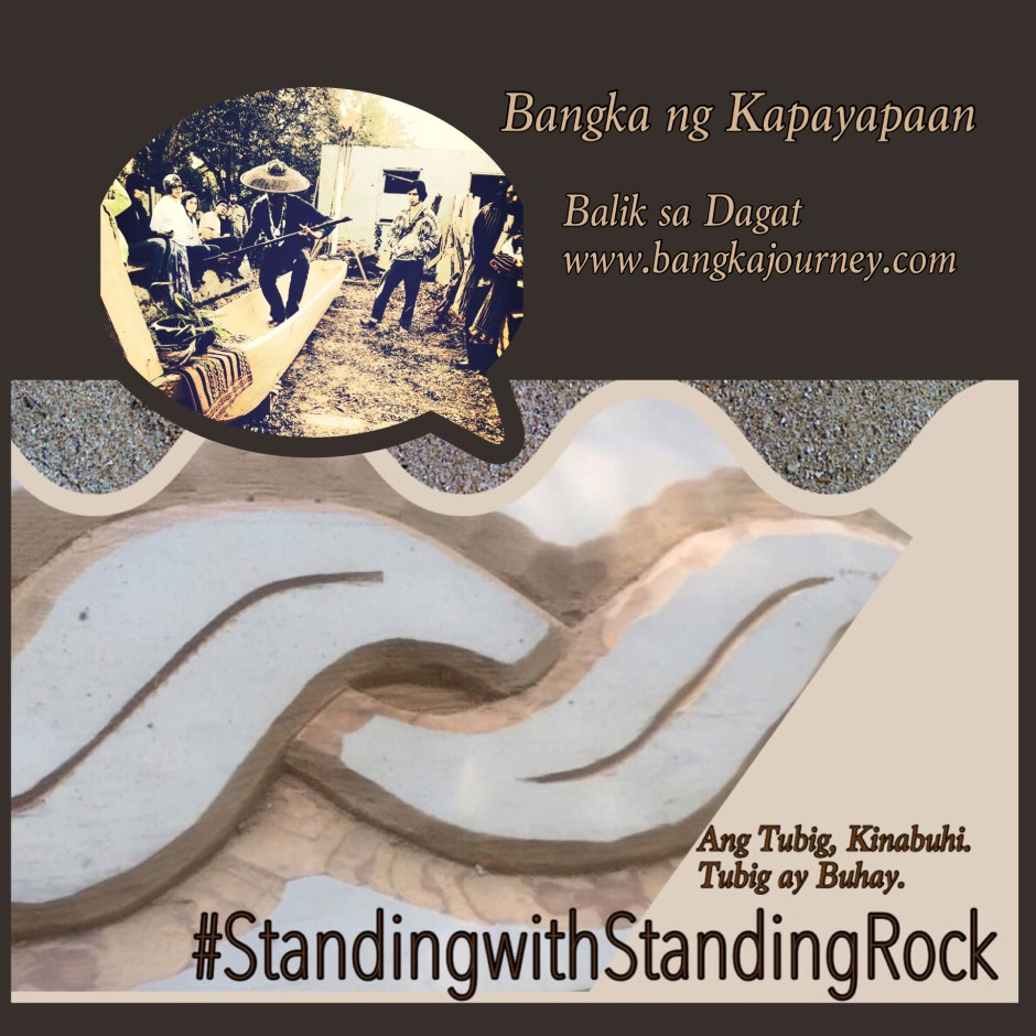 #NoDAPL Standing with Standing Rock
