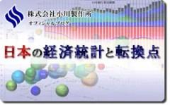 日本の経済統計と転換点