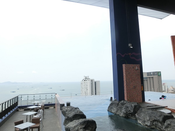 Siam at Siam Design Hotel Pattaya roof top pool