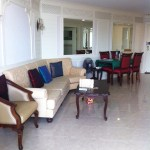 River Heaven – 3BR riverside apartment for rent in Bangkok, 48k