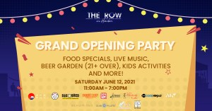 Grand Opening Party Kick off the First Taste of Summer and #MeetMeAtTheRow @ The Row on Harbor