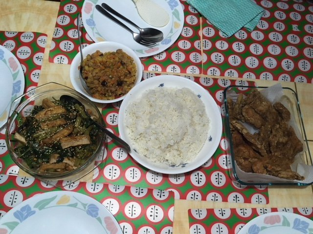 Homemade Filipino food