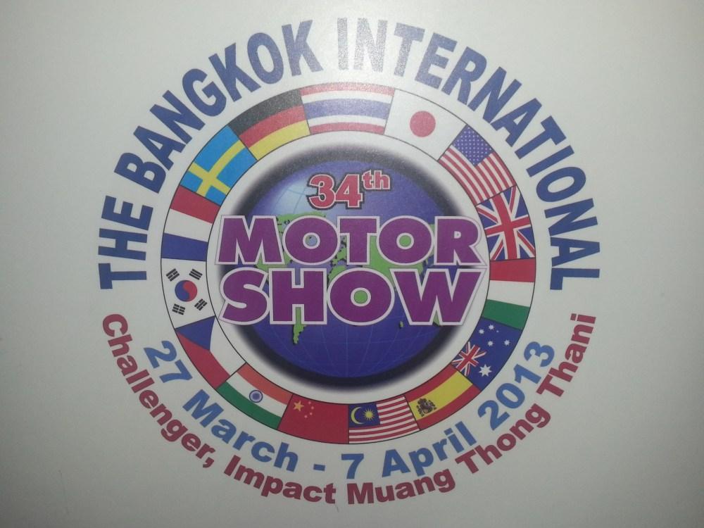 Bangkok Motor Show 2013 (1/6)