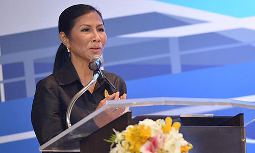 H.E. Kobkarn Wattanavrangkul, Minister of Tourism and Sports