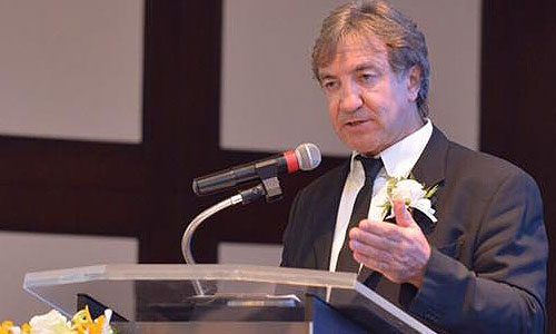 Mr. Andy Treadwell, Managing Director of the Thailand Yacht Show