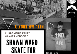 Skate for life : Shawn Ward's Fundraising