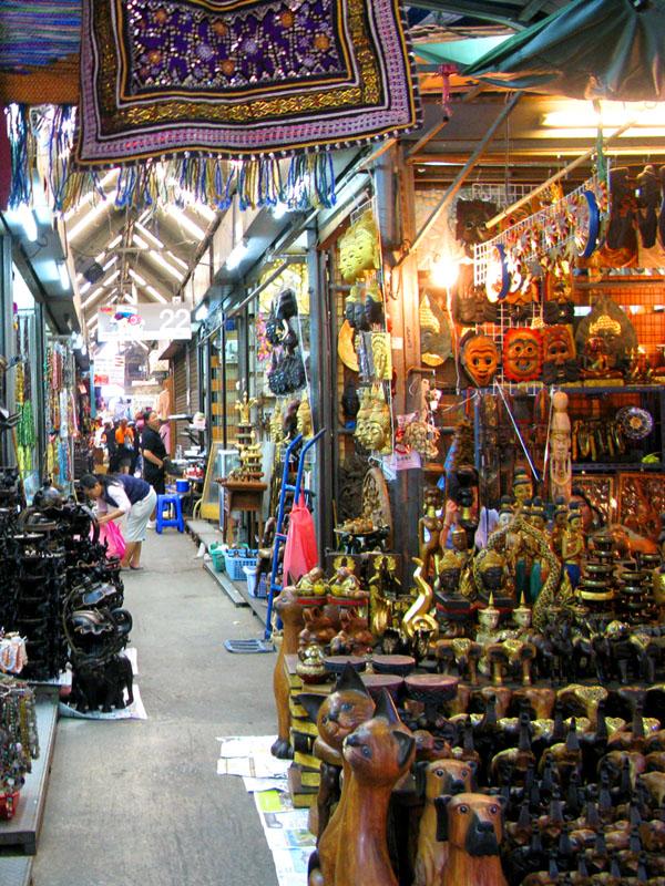 Asiatique Riverfront  Chatuchak Weekend Market  Bangkok