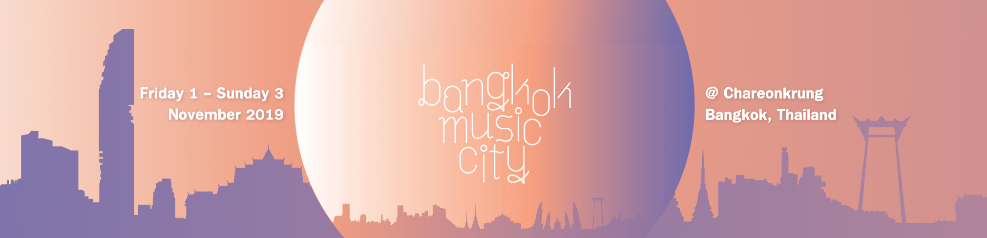 Bangkok Music City – BMC 2019