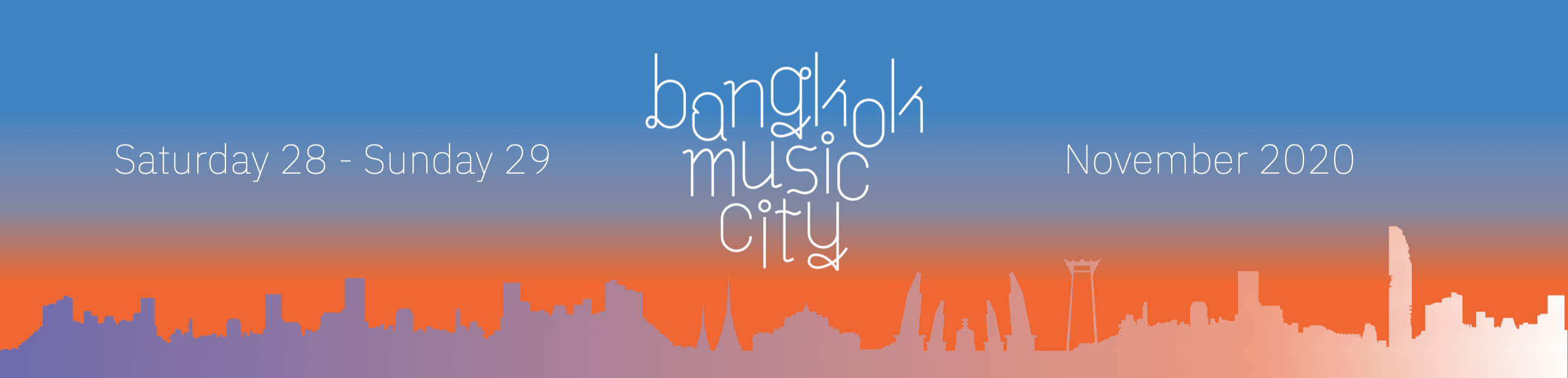 Bangkok Music City – BMC 2020
