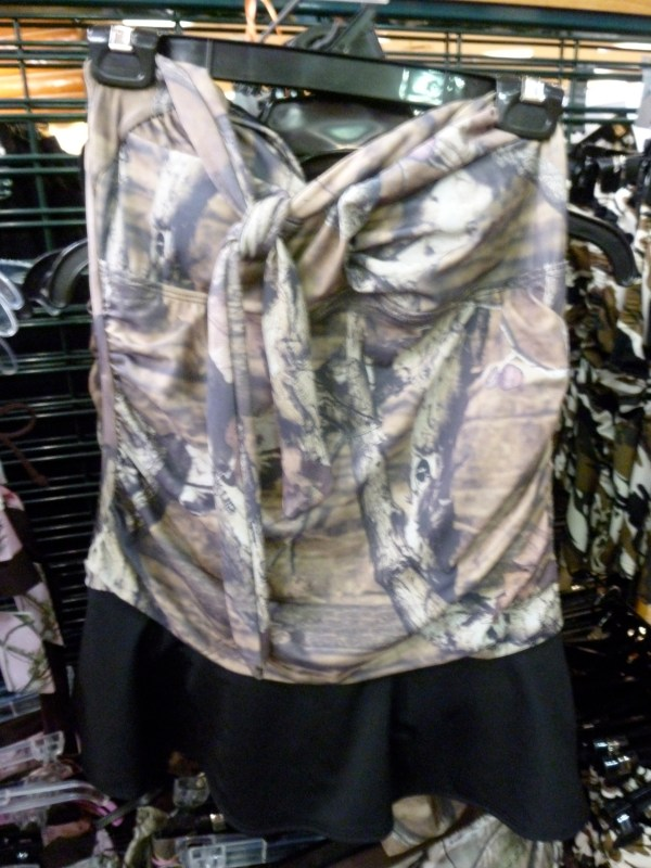 Cute Piece Swimsuits Slimming Camo