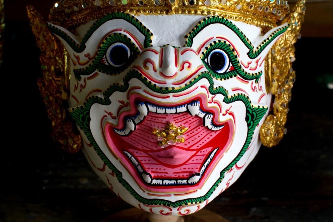 Bangkok Unmasked - Thailand Khon Mask