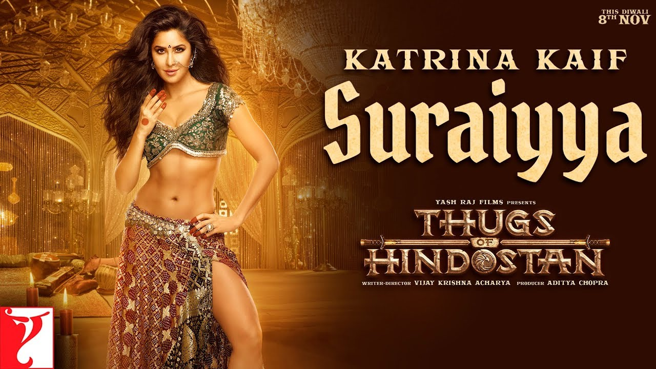 SURAIYYA-FULL-LYRICS-Thugs-of-Hindostan-Item-Song-feat-Katrina-Kaif-Shreya-Ghoshal-Vishal-Dadlani