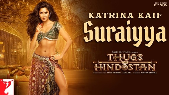 SURAIYYA FULL LYRICS-Thugs of Hindostan Item Song feat Katrina Kaif-Shreya Ghoshal, Vishal Dadlani