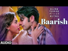 Baarish Full Song Lyrics - Jubin Nautiyal - Hume Tumse Pyaar Kitna