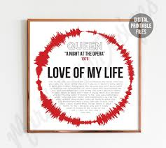 Love of My Life Full Song Lyrics - A Night at the Opera - Queen