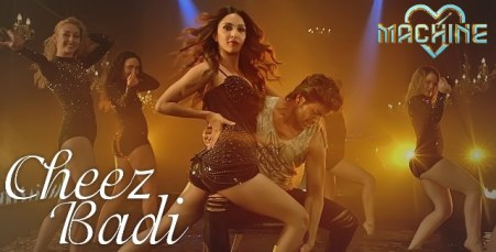 Tu Cheez Badi Full Lyrics Song - Machine
