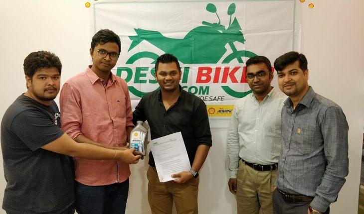Shell Bangladesh Partner Deshi Biker