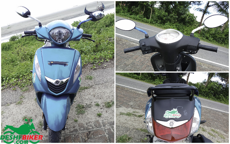 Yamaha Fascino test review