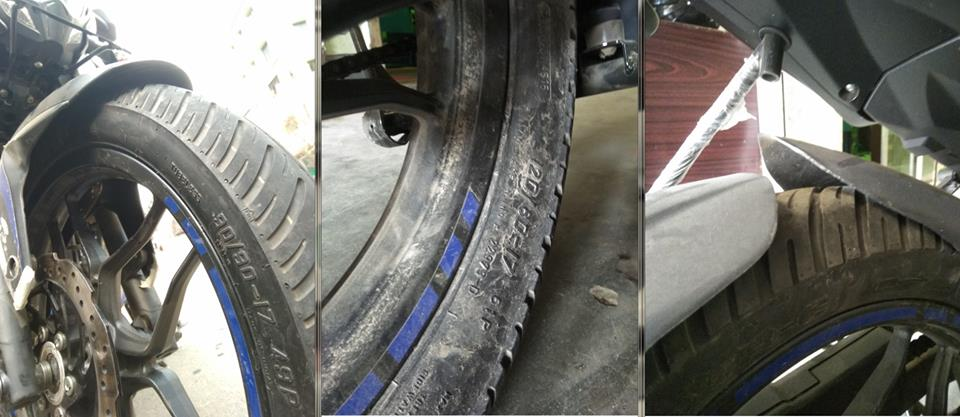 Pulsar NS Tyre