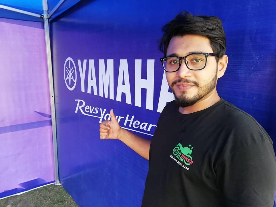 Deshi Biker Stall at Yamaha Riding Fiesta
