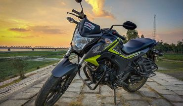 Honda CB Hornet 160R Test Ride Review in bangla