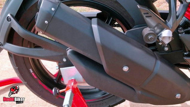 RTR 160 4V Exhaust